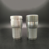 Reducing pipe threaded Joint Fitting nipple drinker clamps NPT thread hose kc nipple