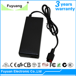 CUL Approved fully enclosed design 12 volt lithium ion battery charger for electric bicycle