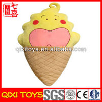 China manufacture promotional gift ice cream plush toy
