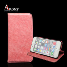 Genuine leather wallet premium leather for iphone 7 case