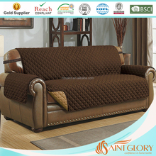 "Quilted Microfiber Chair/Loveseat/Sofa Protector 75""x110"" for Home Use"