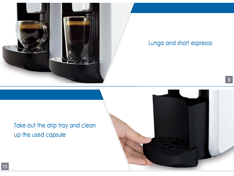 Best Coffee Maker Not Made In China : Best capsule coffee maker with italy pump for kitchen and office made in China, View unique ...