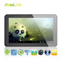 "New Hot 7"" cheap MTK8317 tablet pc very cheap Capacity Touch Screen Phone Mobile BT GPS TV HDMI 8gb ram tablet pc S7B"