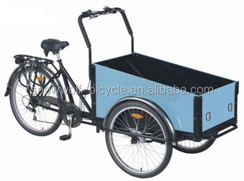 electric cargo tricycle/ 3 wheel electric bicycle