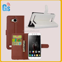 Alibaba China Supplier Wallet Style Flip Leather Back Case Cover For Lenovo S8 Play A5860 A5500 A5600