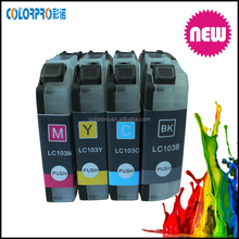 Wholesale compatible for brother lc 103 lc 105 lc 107 printer ink cartridges