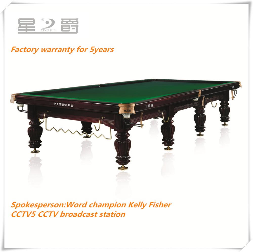 Professional 12ft never second hand pool tables for sale
