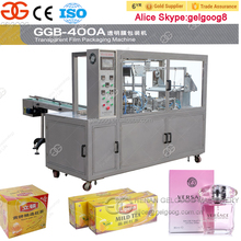 Automatic Cellophane Packing Machine For Box Plastic Film Packaging Machine Price