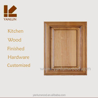 fancy use fir wood china factory customized lacquer kitchen cabinet