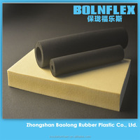 Building insulation material NBR/PVC rubber foam pipe insulation