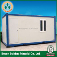 modern low cost design prefabricated flat container houses