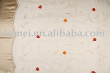 embroidery curtain fabric DM09236