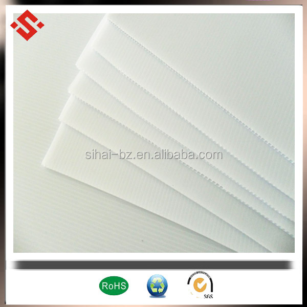 Corflute pp corrugated sheet corrugated advertising board