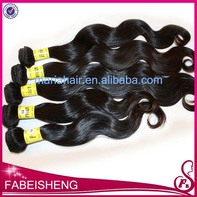 HOT whole sale 100% virgin human european body wave hair weft