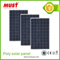 Solar system 100w poly solar panel/18V 100W poly solar panel for small home system