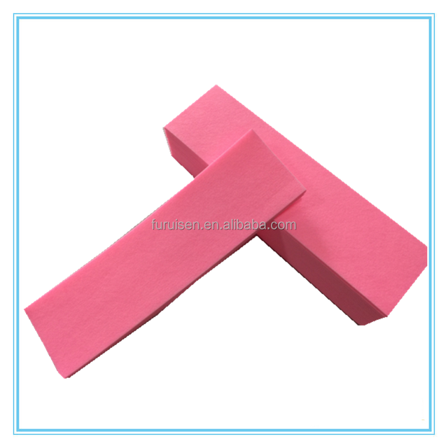 OEM Pink Nonwoven Facial Wax Strips For Body Hair Removal Paper