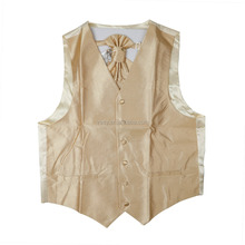 wholesale men's polyester solid color vest