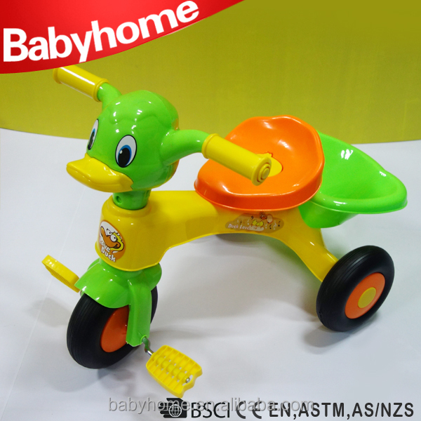High Quality Wholesale Plastic Baby/kid/children Tricycle With Fashionable Model