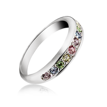 OUXI 2016 Fashion vogue jewelry wedding ring for women 40072