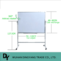 Mobile Magnetic Whiteboard with Stand for students
