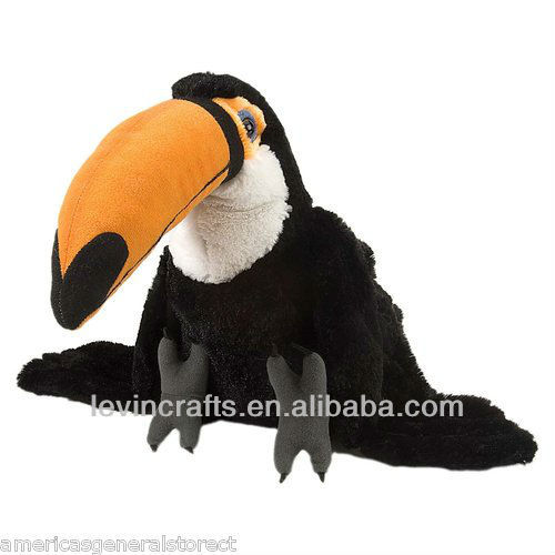 "TOCO TOUCAN 11"" tall PLUSH stuffed animal bird by Wild Republic CUDDLEKINS"