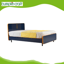 Hongkong Supplier Luxury Golen Sands Single Lasted Wood Double Bed Designs