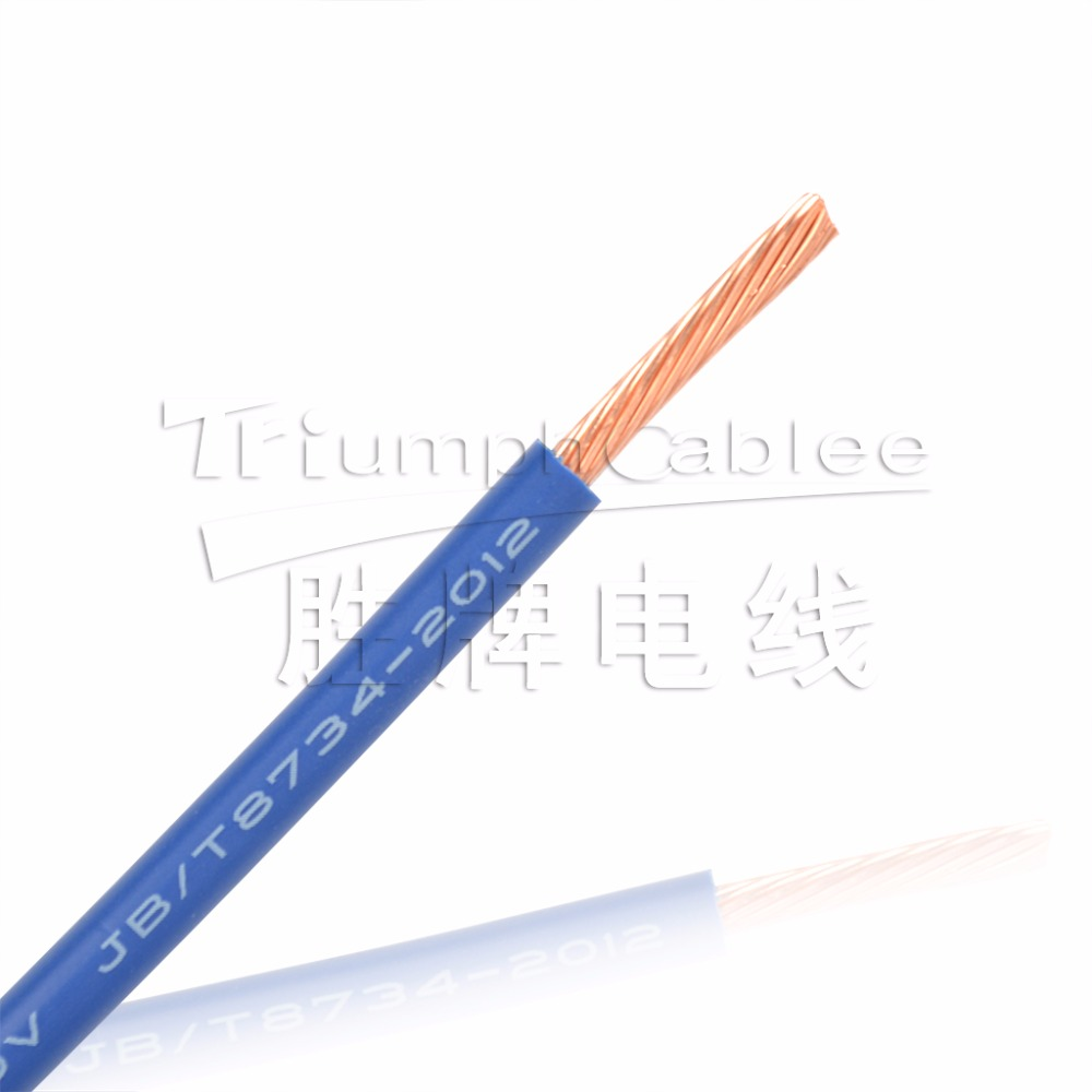 6.0mm2 19 Strands bare copper house/building electric wire 450/750V
