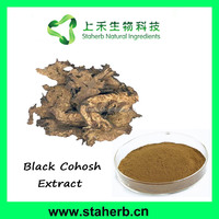 100% Natural organic Black Cohosh Extract Triterpenoid Saponins 2.5% 5% 8%