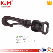 KJM Wholesale POM plastic black mini hooks for glove/bag/backpack