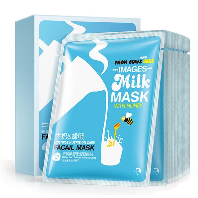 OEM ODM Images milk and honey essence Nourishing tender skin all natural face mask skin care