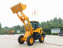 4WD tractor ZL20F cheap wheel loader price chinese wheel loader with cabin for sale