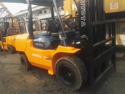 forklift price used forklift japan toyota forklift 7 ton for sale in Shanghai
