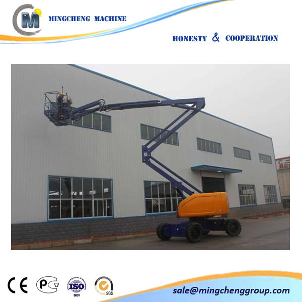 4X4 ARTICULATING BOOM MANLIFT AERIAL POWER 8-45m boom lift