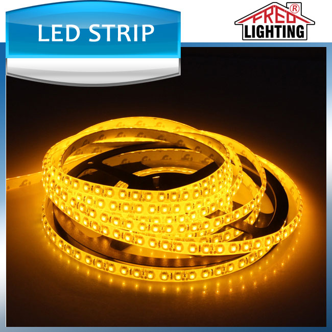 Widely used Customzied length SMD5050 60leds/m Amber led strip light