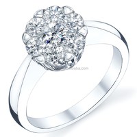 Gemnel Jewelry 925 sterling silver diamond ring price in india