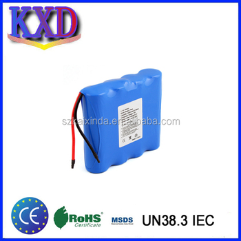 14.8V 2600 mAh Li-Ion Battery Pack With Protection IC