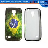 Glossy Surface PC Case For Samsung S4 Mini I9190 With Water Imprint, For Galaxy S4 Mini I9190 Water Imprint Glossy Case