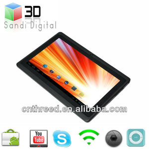 free game android tablet netbook 7inch tablet pc allwinner A13 laptop ultrathin Android4.0