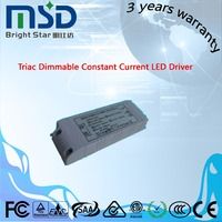 700ma 900ma 1200ma constant current dimmable 40w triac led driver/power supply
