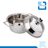 26cm All-purpose stainless steel kitchen stockpot & soup pot