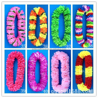 Artificial wholesale Hawaiian leis flower garland flower halo flower for party decor