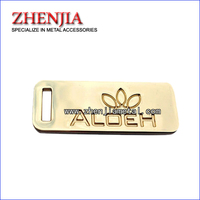 zinc alloy logo for handbag