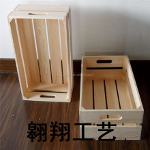 wholesale shabby chic unfinished wood fruit crate
