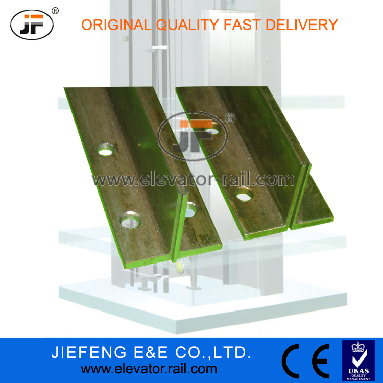 Zhangjiagang Guide <strong>Rail</strong> For Elevator | Elevator Guide <strong>Rail</strong> | T50/<strong>A</strong> (50*50*5mm),t type machined elevator guide <strong>rails</strong>