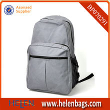 Gray leisure and fashion student backpack
