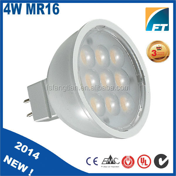 2014 new product 4W 24V mr16 GU5.3 60 degree LED Spotlight housing