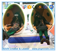 Virtual Reality simulator new attractions with amusement game machine Interactive 9D VR cinema hot business