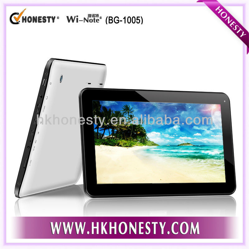 10inch Google 4.2 Android Tablet Dual Core Allwinner Boxchip A20