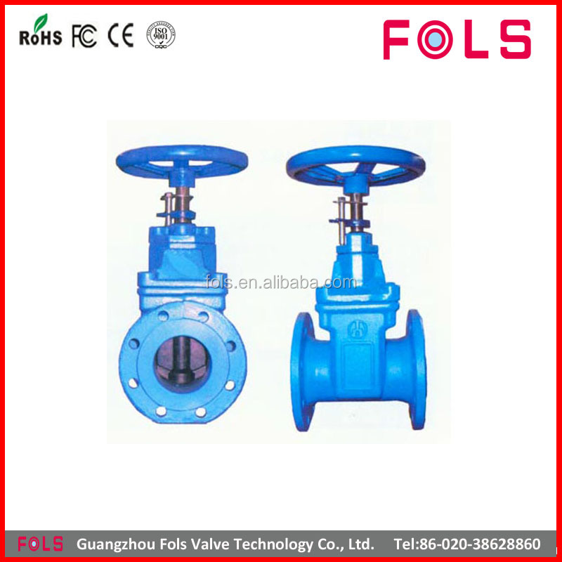 handwheel non-rising stem soft seated direct buried gate valve