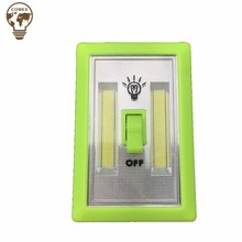 High Quality Battery Operated COB Wall Light Switch cabinet light with Magnetic